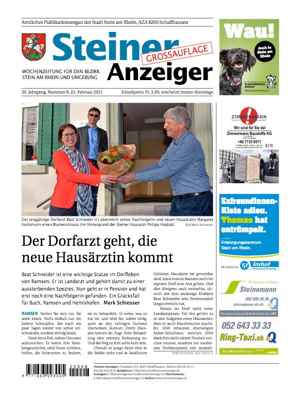 Steiner Anzeiger vom 23. Februar 2021